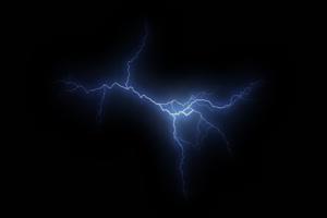 闪电 电光 电流 特效素材