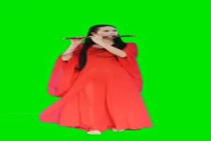 古装美女素材28 绿屏抠像