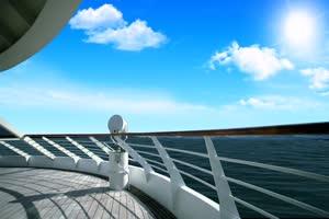 08 唯美风景 游艇