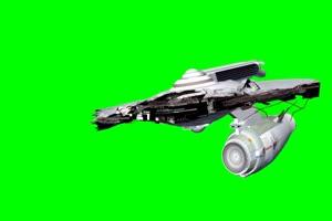 航天飞机 宇宙飞船 UFO飞船 天空科技 22  特效牛绿