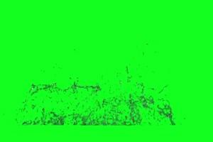 跳水 溅水 跳水坑 3 绿屏抠