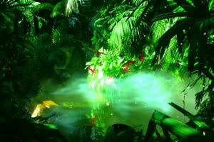 梦幻森林 高清背景素材MP4 在线下载