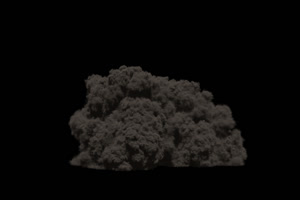 爆炸 烟雾 烟尘 炸裂 免抠像 特效素材 20