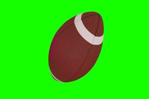 橄榄球 美式足球 体育 绿屏抠像素材