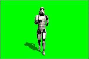 星球大战 帝国冲锋队 战士 5 绿屏绿幕特效抠像素