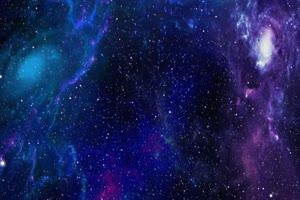 宇宙粒子星空星系 宇宙星空 背景特效素材
