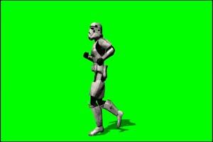 星球大战 帝国冲锋队 战士 1 绿屏绿幕特效抠像素