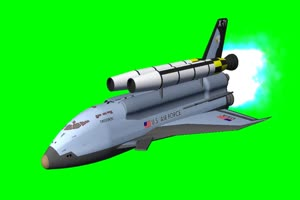 航天飞机 宇宙飞船 UFO飞船 天空科技 19  特效牛绿