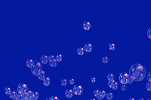 肥皂泡泡 气泡 绿屏抠像蓝幕特效素材
