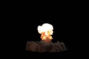 原子弹爆炸 爆炸 炸弹爆炸