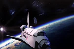 航天飞机 宇宙飞船 UFO飞船 天空科技 23  特效牛绿