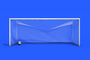 足球 守门员  体育 绿屏抠像素材