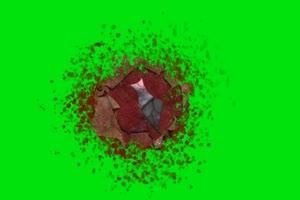 心跳 带音效 巧影ae绿屏抠像素材