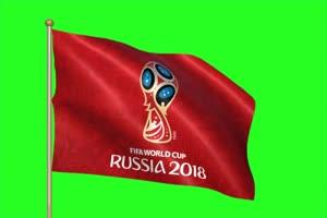 2018 俄罗斯世界杯 旗帜