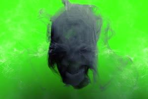 骷髅  绿屏抠像素材 支持巧影