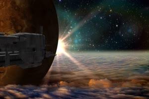 航天飞机 宇宙飞船 UFO飞船 天空科技 17  特效牛绿