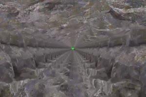 岩石隧道 矿山隧道 矿山车