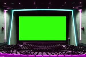 电影院 相框 绿屏抠像 巧影AE 特效素材 4