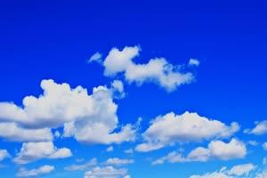 蓝天白云 晴空万里 天空素