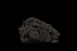爆炸 烟雾 烟尘 炸裂 免抠像 特效素材 1350