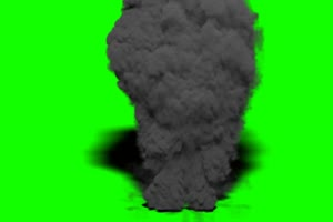火焰 烟雾 爆炸 绿屏抠像特效素材绿幕AE教程