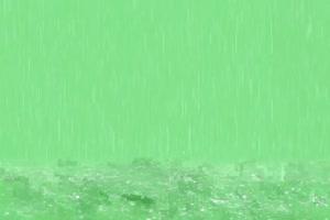 超级真实 下雨素材 效果很完美  绿屏抠像素材
