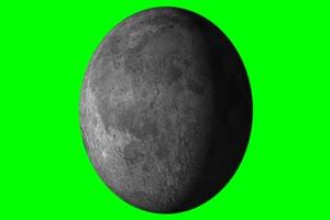 月亮旋转 旋转 绿屏抠像 特效素材 中秋节专题素
