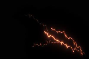闪电 电光 透明通道 专业抠像 特效素材PR AE 10