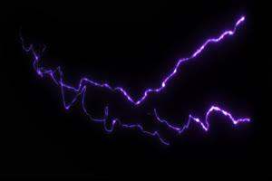 闪电 电光 透明通道 专业抠像 特效素材PR AE 04